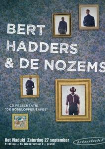 Bert Hadders poster